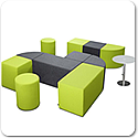 SQUARE & VOLT Modular Seating