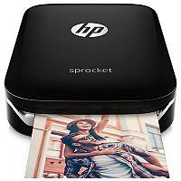 HP Sprocket Photo Colour Printer Bluetooth Black X7N08A