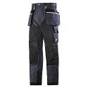 6205 RuffWork Denim, Work Trousers Holster Pockets Denim\Black - 6504
