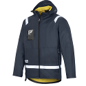 Snickers 8200 Rain Jacket PU Navy Regular