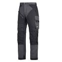 "6202 RuffWork, Work Trousers+ Holster Pockets Steel grey\Black - 5804 Size 184 28""/28"""