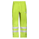 Snickers 8243 High-Vis PU Rain Trousers, Class 2 Size XS Yellow