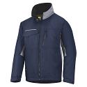 Snickers 1128 Craftsmens Winter Jacket Navy/Grey Rip-stop