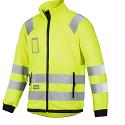 Snickers 8063 High-Vis Micro Fleece Jacket Yellow Class 3