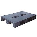 Pallet Plastic 1200x800mm Blue 315377 Capacity 1000kg