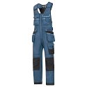 """Snickers 0212 Craftsmen One-piece Holster Pocket Trousers DuraTwill Size 100 36""""/5'4 Blue/Black"""