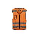 Snickers High-Vis Vest Orange Class 2 9153