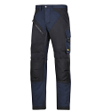 """6202 RuffWork, Work Trousers+ Holster Pockets Navy\Black - 9504 Size 184 28""""/28"""""""