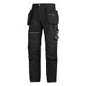 "6202 RuffWork, Work Trousers+ Holster Pockets Black\Black - 0404 Size 184 28""/28"""