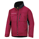 Snickers 1128 Craftsmens Winter Jacket Chili Red/Black Rip-stop