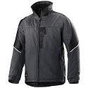 Snickers 1119 Craftsmen Winter Jacket Steel Grey/Black Power Polyamide