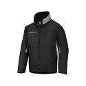 Snickers 1128 Craftsmens Winter Jacket Black/Grey Rip-stop