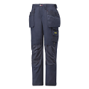 """Snickers 3714 Women's Holster Pocket Trousers Canvas+ Size 38 WAIST 28"""" LEG 31"""" Navy"""