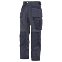"""Snickers 3212 Craftsmen 28""""/28"""" Holster Pocket Trousers DuraTwill Size 180 Navy"""