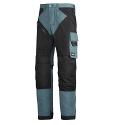 "6202 RuffWork, Work Trousers+ Holster Pockets Petrol/Black 5104 Size 184 28""/28"""