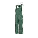 Snickers 0312 Craftsmen One-piece Trousers DuraTwill Green