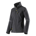 Snickers 1227 Womens Soft Shell Jacket Black