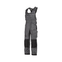 """Snickers 0312 Craftsmen One-piece Trousers DuraTwill Size 100 36""""/5'4"""" Muted Black/Black"""