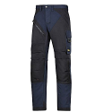 "6303 RuffWork, Work Trousers Navy\Black - 9504 Size 184 28""/28"""