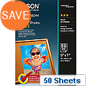 "Epson 5x7"" Glossy Photo Paper 200gsm (Pack of 50)"