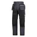 "6204 RuffWork Denim, Work Trousers+ Holster Pockets Denim\Black - 6504 Size 184 28""/28"""