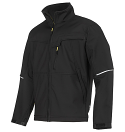 Snickers 1212 Soft Shell Jacket Black