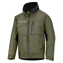 Snickers 1128 Craftsmens Winter Jacket Olive Green/Black Rip-stop