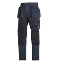 """6203 RuffWork, Work Trousers Holster Pockets Navy\Black - 9504 Size 184 28""""/28"""""""