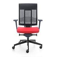 Xenon Swivel Ergonomic Mesh Back Task Chair Red