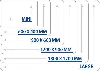 Whiteboards Sizes