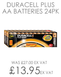 Duracell Batteries 24 Pack