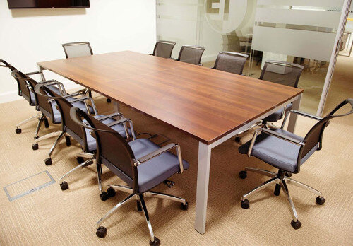 1E Office Fitout Boardroom