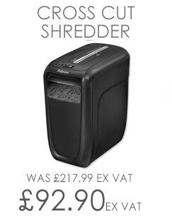 Fellowes Powershred 60Cs Cross Cut Shredder P-3 4606201