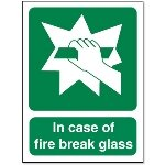 Fire Response Signs