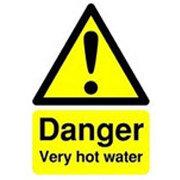Hazard Yellow Sign