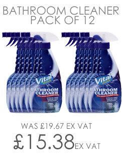Vital Fresh Bathroom Cleaner 750ml Pack of 12 WX00200