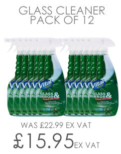 Vital Fresh Glass and Mirror Cleaner 750ml Pack of 12 WX00198