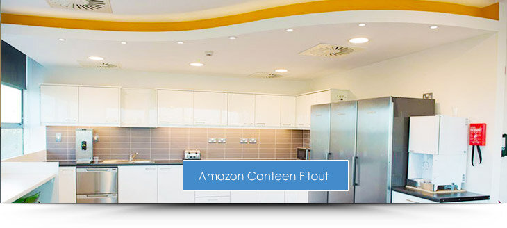 Amazon Phase 1 Canteen Fit out