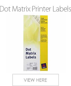 Avery Dot Matrix Printer Labels