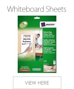 Avery Whiteboard Sheets