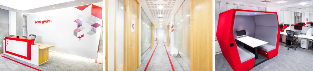 Bearing Point Office Fitout Project Dublin