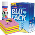 Glue, Adhensive & Post- it Notes