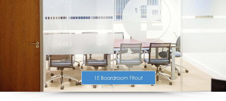 1E Boardroom Fitout