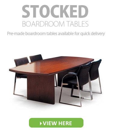 Stocked Boardroom Tables