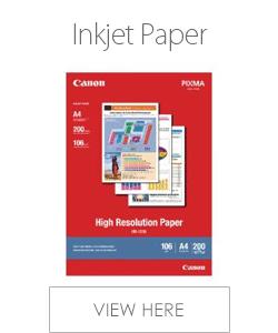 Canon Inkjet Paper