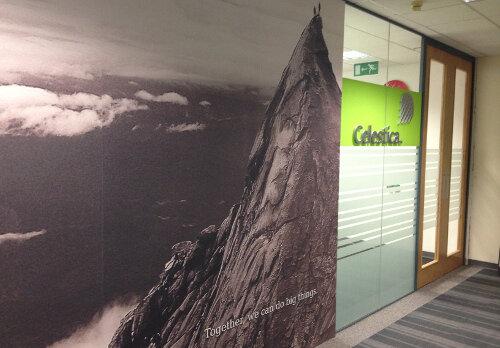 Celestica Office Fitout Dublin