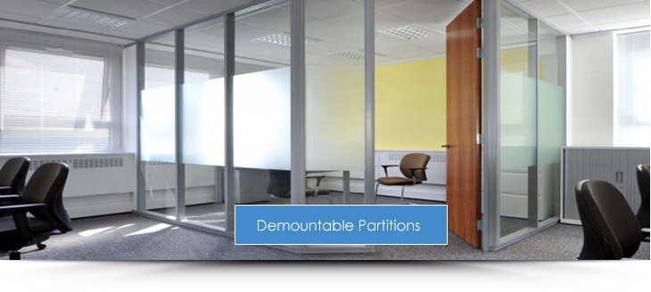 Demountable Office Partitions