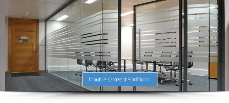 Double Glazed Office Partitions