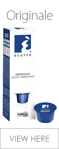 Ecaffe Caffitaly Originale Coffee Pods Pack of 10 Capsules