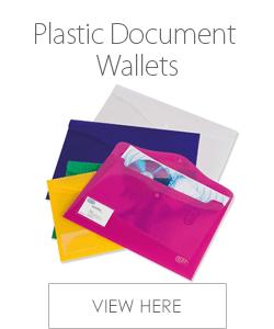 Elba Plastic Document Wallets